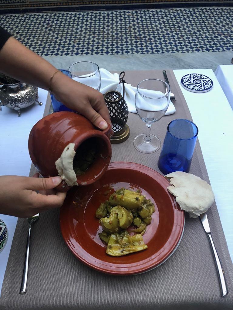 Summer Market Moroccan Menu: Tanjia