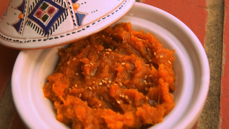 Pumpkin M'derbal thanksgiving recipe