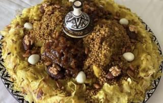 Moroccan Chicken Rfissa